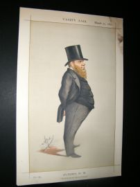 Vanity Fair Print 1871 Richard Dowse